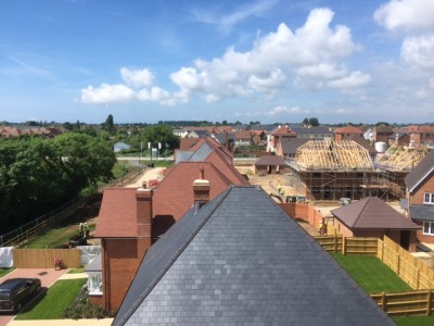 NJS Roofing at North Bersted for Berkeley Homes